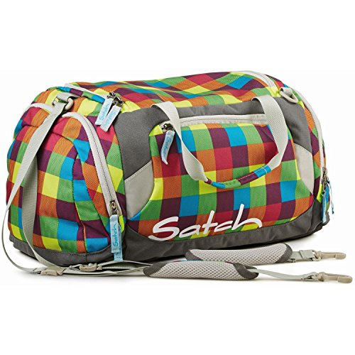 Ergobag Satch borsone sport accessori borsa 50 cm - misura unica, 13 sizzler Multicolore (Multicolor Checks)