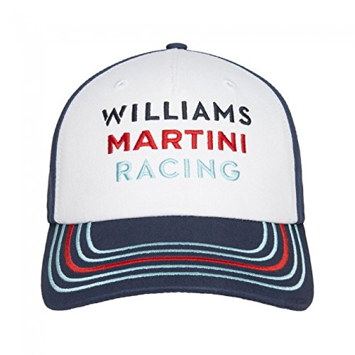 Williams Martini Racing F1 Team Replica Cap, Formel 1, blau, Valtteri Bottas, Felipe Massa - Martini Racing Shirt