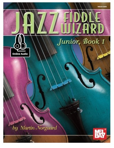 JAZZ FIDDLE WIZARD JUNIOR BOOK 1 por MARTIN NORGAARD