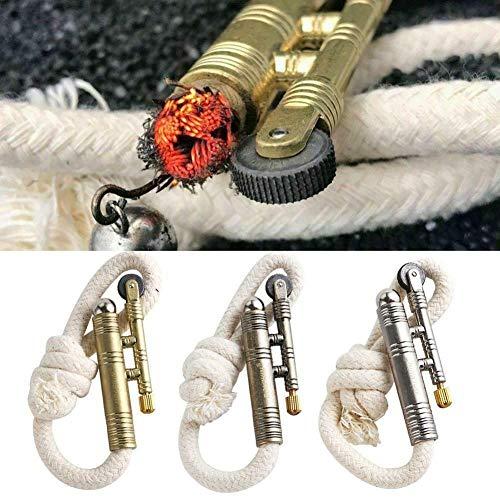 3pcs Kerosinfeuerzeug Feuerzeug Vintage-Optik, Sailors Windproof Trench Lighter Vintage Trench