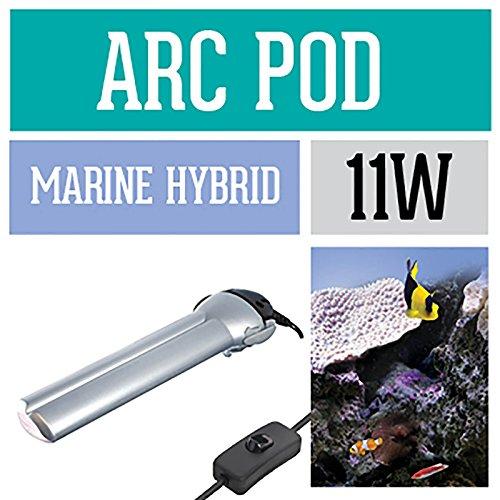 Arcadia Arc Pod Leuchte Aquarium Marine Hybrid 11 Watt Meerwasser IP67 -