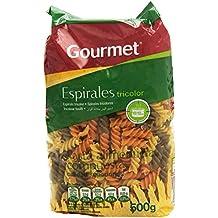Gourmet Espirales Tricolor Pasta Alimenticia Compuesta - 500 g