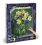 Schipper 609130789 Malen nach Zahlen - Frühlingsblumen, 40x50 cm