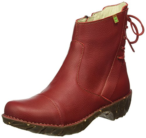 El Naturalista N148 Grain Yggdrasil Souple, Rouge Femmes Bottines (tibet)