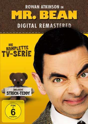 Mr. Bean - Die komplette TV-Serie (3 Discs, + Strick-Teddy, OmU, Digital Remastered)