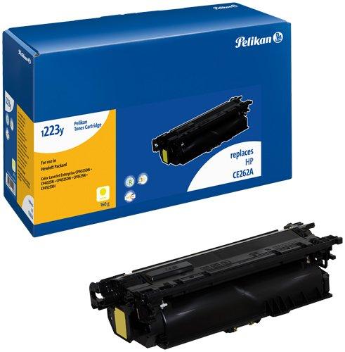 Preisvergleich Produktbild Pelikan Toner-Modul 1223y ersetzt HP CE262A, Gelb, 15050 Seiten