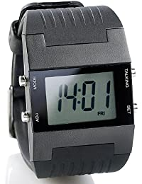 St. Leonhard Clock with Alarm Function: Alarm Men's Watch (Bracelet Talking Watch with Alarm Clock)