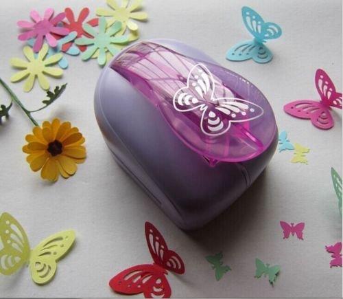 LCDOLED® süß DIY Basteln Papier Locher Kunst Scherenschnitt Schmetterling Spielzeug Scrapbooking Shaper Cutter Scrapbooking Tags (L)