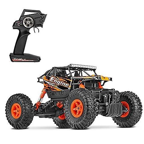 Voitures Radiocommandée Course Rapide de Camion Le tout- terrain 2.4 GHz 4WD 1:18 Échelle Buggy Hobby Donner des Cadeaux