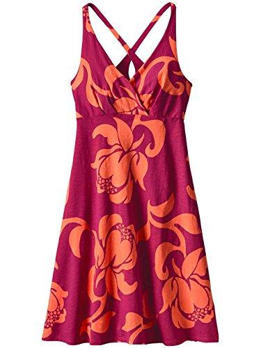 Patagonia Amber Dawn Dress Women exotic floral:craft pink