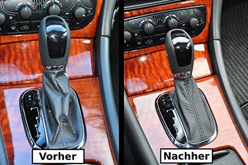 Schaltsack Schaltmanschette echt Leder N251 (Mercedes Manschette Links)