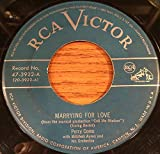 Marrying For Love / The Best Thing For You [Vinyl Single 7'']