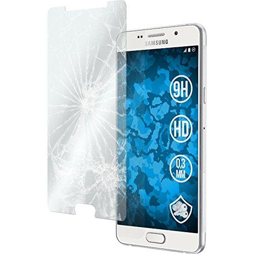 2 x Glas-Folie klar für Samsung Galaxy A5 (2016) A510 PhoneNatic Panzerglas für Galaxy A5 (2016) A510