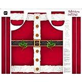 Weihnachten Panel–Weihnachten Santa Schürze Panel