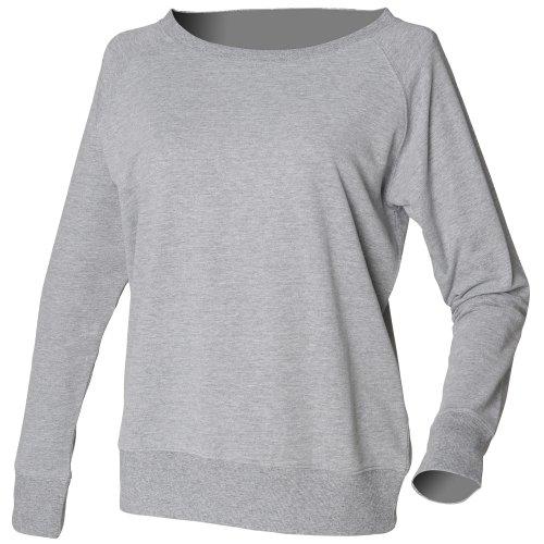 Skinni Fit - Sweatshirt 100% coton - Femme Noir