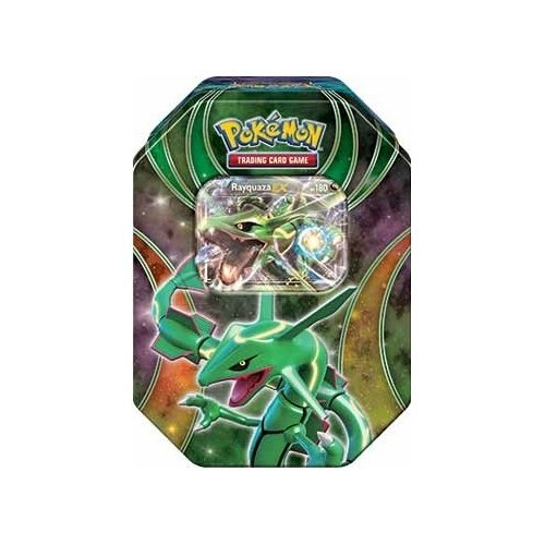 Pokemon 'EX Beyond The Ordinary! 2015 Fall Tin 'Rayquaza-EX'