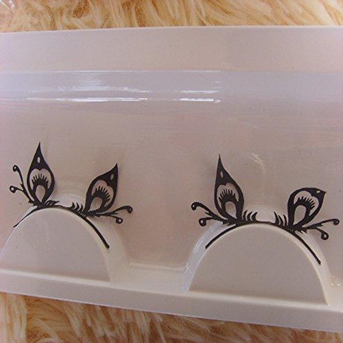 'Spritech (TM) Nero Eyeliner paper-cutting stile cinese doppio palpebra Adesivo