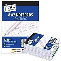 Just Stationery A7bloc de notas (Pack de 8)