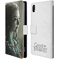 Official HBO Game Of Thrones Margaery Tyrell Character Portraits Leather Book Wallet Case Cover For Sony Xperia Z2