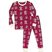 Harry Potter Pijama para niñas Hogwarts Ajuste Ceñido