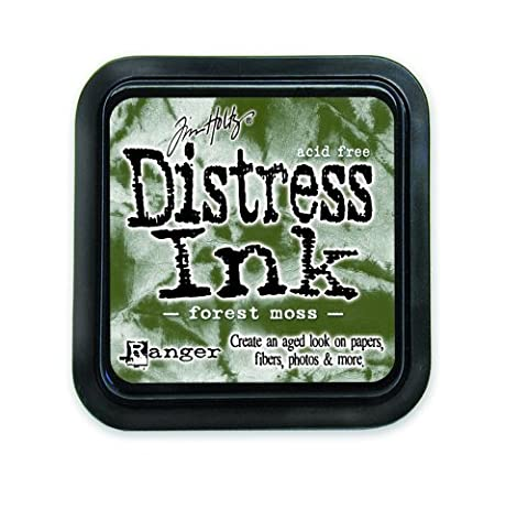 Ranger Tim Holtz Distress Pad, Forest