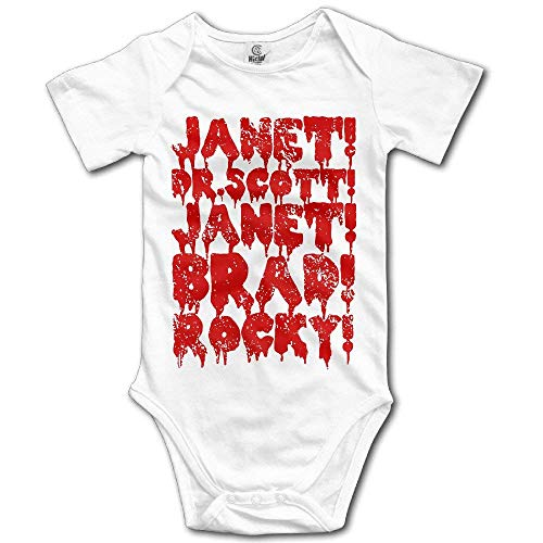 Fashion Cotton Breathable Baby Onesie The Rocky Horror Picture Show Romper Climb Cloth