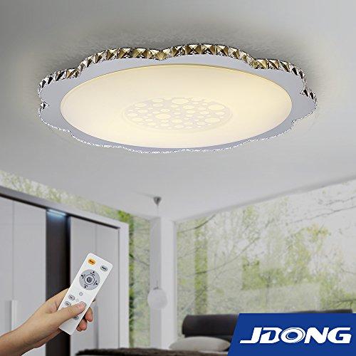jdong einzigartige led kristall deckenleuchte deckenlampe design ... - Wohnzimmer Deckenlampen Design