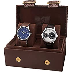 Joshua & Sons Set de 2 relojes Men'S Watch Gift Set