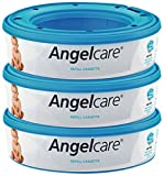 Angelcare Nappy Disposal System Refill Cassettes - Pack of 3 Bild 1