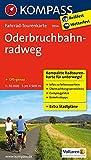 Oderbruchbahnradweg: Fahrrad-Tourenkarte. GPS-genau. 1:50000. (KOMPASS-Fahrrad-Tourenkarten)