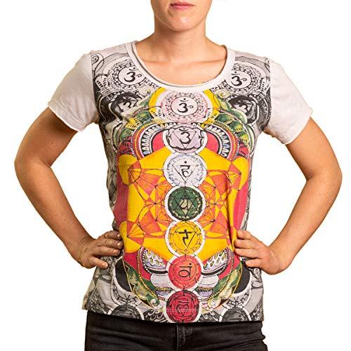 PANASIAM Mirror Chakras T-Shirt in M