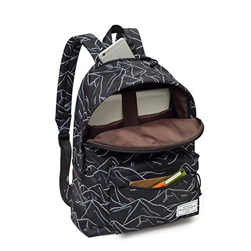 Stampa borsa studenti, borsa del calcolatore di affari -B A