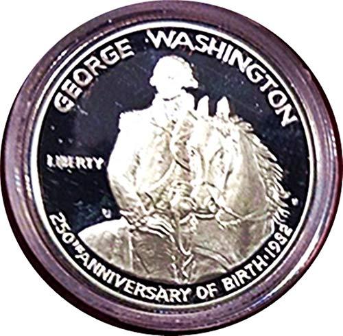 1732-1982-S George Washington Commemorative half dollar, Proof graded, .900 Silver -