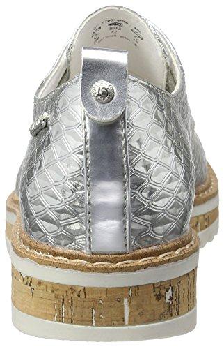 Bugatti V7001pr6l, Baskets Basses Femme Argent (Silber 805)