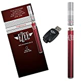 Ezee Cigarette Électronique kit complet | parfum de Tabac | Sans Nicotine ni Tabac | E Shisha inclus Batterie rechargeable, USB, 1 x Filtre