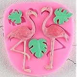 Swan Flamingo Shape 3D Fondant Cake Silicone Mold
