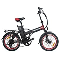 Bicicleta eléctrica QUADRINI , bicicleta eléctrica plegable , modelo MINI, Shimano, La batería de