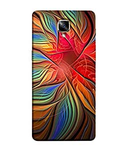 PrintVisa Graphical Pattern 3D Hard Polycarbonate Designer Back Case Cover for OnePlus 3T :: OnePlus 3 T :: One Plus 3T