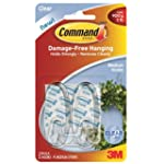 Command Medium Hooks with Strips - Cl...
