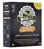 one:47 ® Anti-Hangover-Drink | 12 Sticks | NATÜRLICH BEI KATER | Geschützte Formel | hochkonzentrierte Elektrolyte und Pflanzenextrakte wie Ginkgo, Weidenrinde und Ingwer