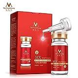 Generic New Six Peptides Argireline+aloe vera+collagen rejuvenation anti wrinkle Serum for the face