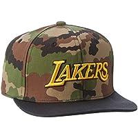 adidas NBA Snapback Bulls T OSFM - Gorra, color camuflaje/dorado universitario