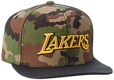 Adidas Nba Lakers Snapback T Bonnet, multicolore,/collegiate or, OSFM