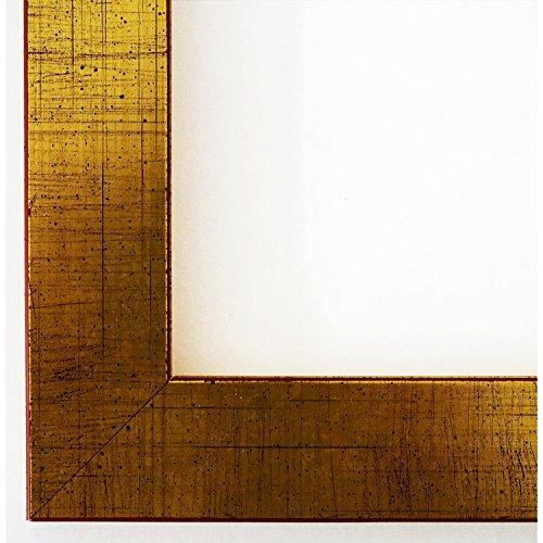 Bilderrahmen Leverkusen 3,3 - Gold - WRU - DIN A3 (29,7 x 42,0 cm) - 500 Varianten - alle Größen -...