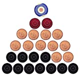 #4: Raisco Carrom Striker + Carrommen Coins