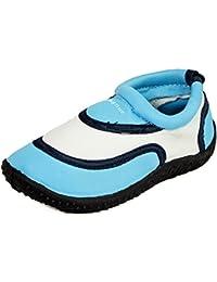 Sleedy® Enfants surfent chaussures Plage chaussures bottillons chaussures unisexes Aqua en différentes tailles 22-28
