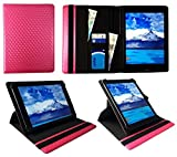Sweet Tech Majestic TAB-611 3G 10.1 Pollici Tablet Rosa 3D Cube Universale 360 Gradi di Rotazione PU Pelle Custodia Case Cover (9-10 Pollici