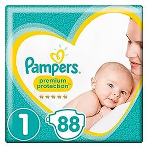 Pampers - New Baby, Dimensione pannolini 1 (2-5 kg) , Confezione da 2 pachi