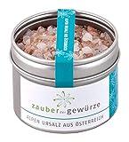 Zauber der Gewürze - naturbelassenes und aromatisches Alpen-Ursalz aus Österreich, 130g - grob, ideal für die Mühle