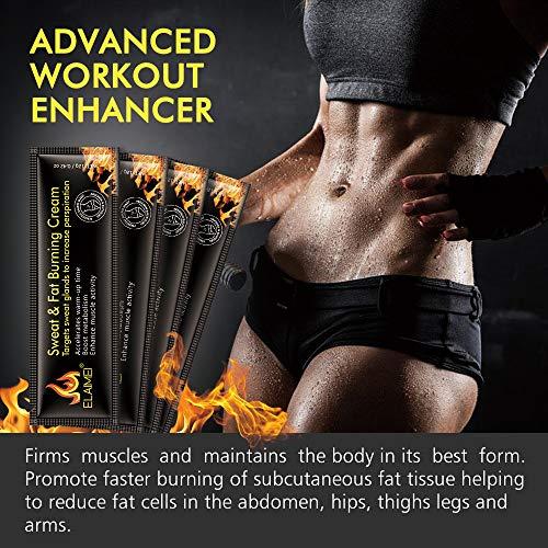 51VeNBjivXL - Crema caliente, Abs Extreme 4D Liposuction Body Slim Cream, Anti celulitis Abdomen Cuerpo orgánico natural Tratamiento adelgazante para moldear la cintura, Abdomen y glúteos (10 unidades/caja)